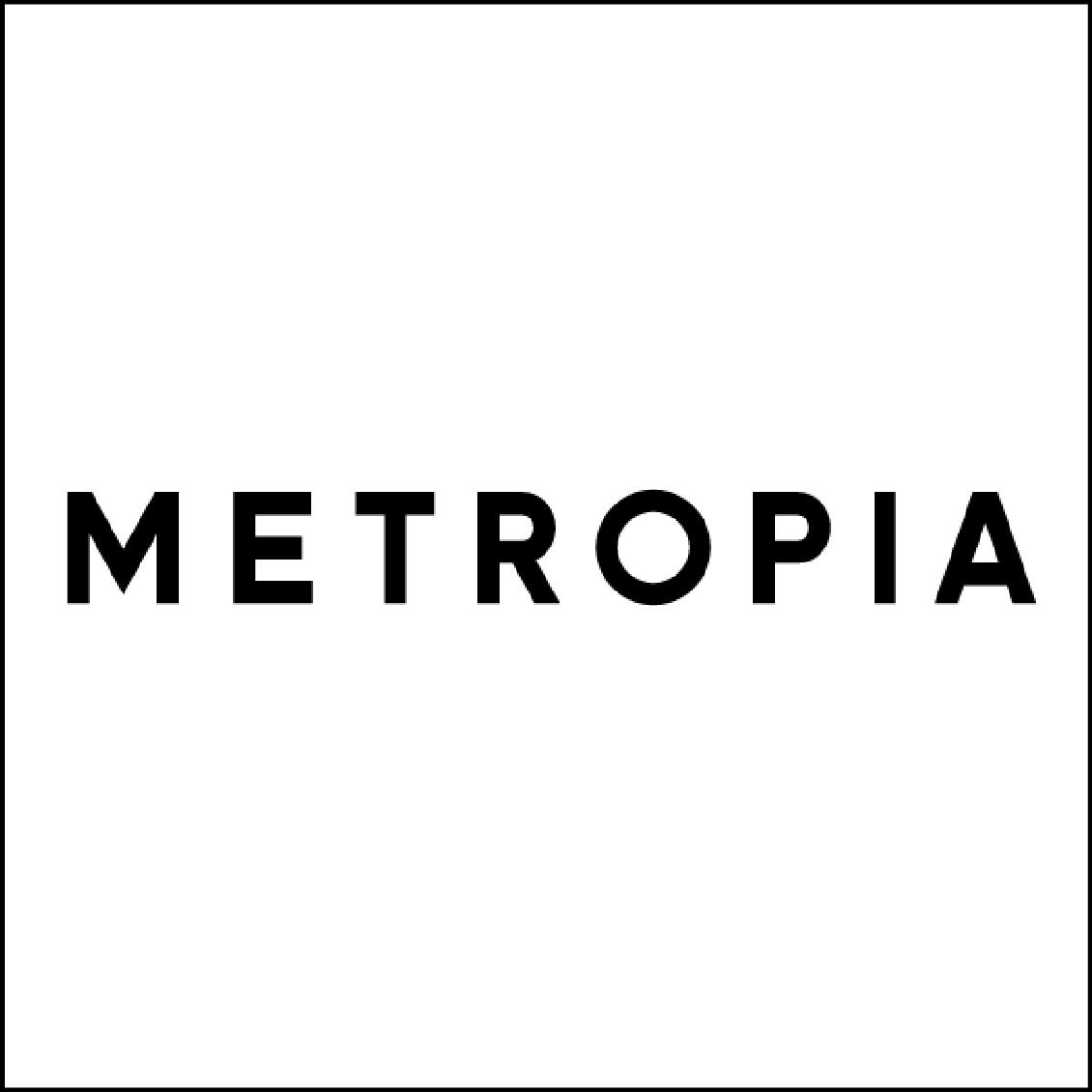 Metropia logo - white background 270 pix